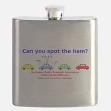 Can you spot the ham? Flask