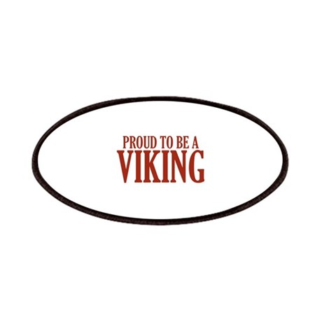 Proud To Be A Viking Patches