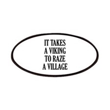 It Takes A Viking Patches