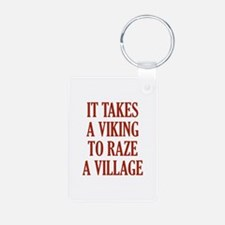 It Takes A Viking Keychains
