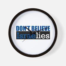 Don't Believe IsraeLIES  Wall Clock
