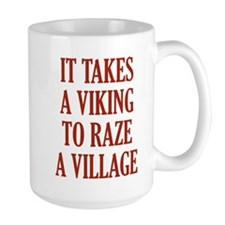 It Takes A Viking Ceramic Mugs