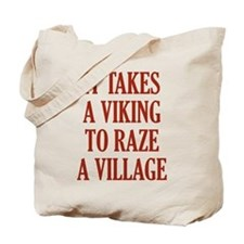 It Takes A Viking Tote Bag