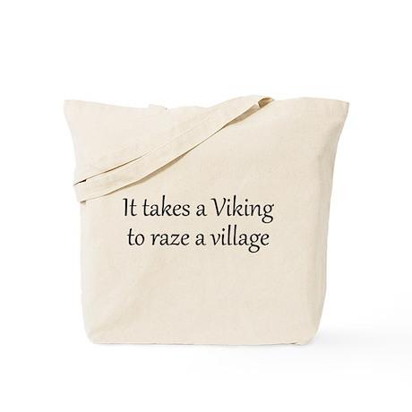 It Takes A Viking Tote Bag