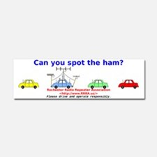 Can you spot the ham? Car Magnet 10 x 3