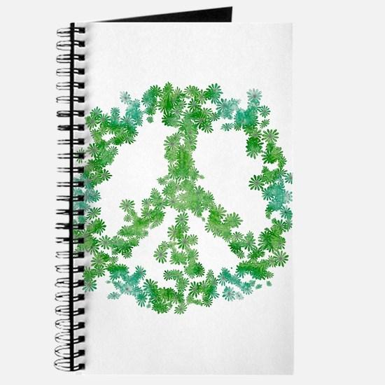 Snowflake Flower Peace Journal
