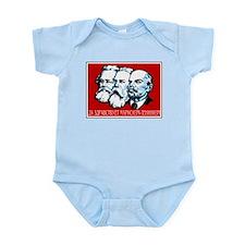 Marx, Engels, Lenin Infant Creeper