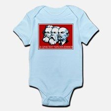Marx, Engels, Lenin Infant Creeper