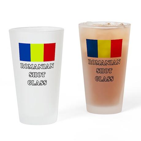 'Romanian Shot Glass' Drinking Glass