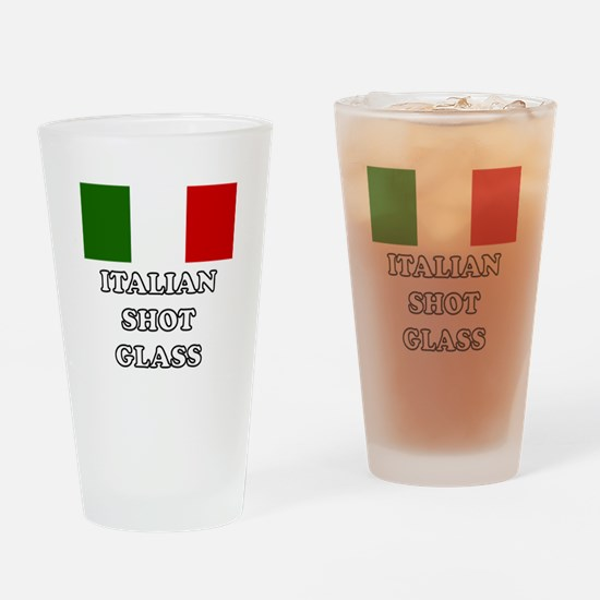 'Italian Shot Glass' Drinking Glass