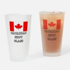 'Canadian Shot Glass' Drinking Glass