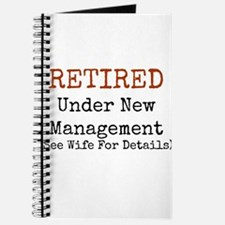 Retired See Wife for Details Journal