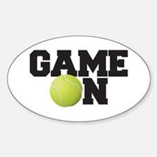 Game On Tennis Decal
