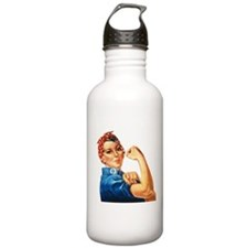 Rosie the Riveter Sports Water Bottle