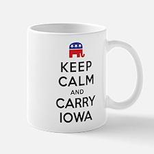 Keep Calm and Carry Iowa Rep Mug