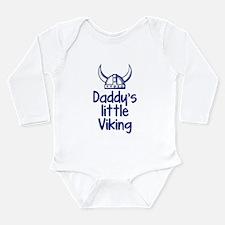 Daddy's Little Viking Long Sleeve Infant Bodysuit