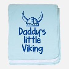 Daddy's Little Viking baby blanket