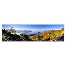 Narrows of Lake George Adirondacks NY Poster