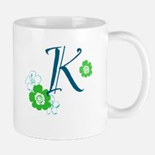 K Letter Mug