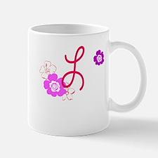 L Flowers Small Small Mug