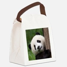Panda Cub Canvas Lunch Bag