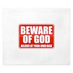 Beware Of God King Duvet