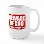 Beware Of God Large Mug