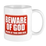 Beware Of God Mug