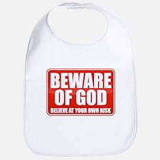 Beware Of God Bib