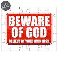Beware Of God Puzzle