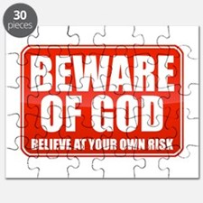Beware Of God Puzzle
