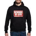 Beware Of God Hoodie (dark)