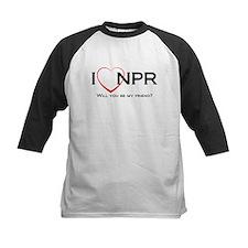 I Love NPR Tee