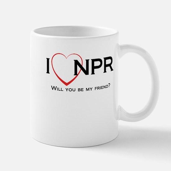 I Love NPR Mug