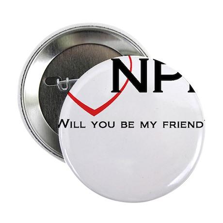 "I Love NPR 2.25"" Button"
