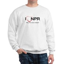 I Love NPR Sweatshirt
