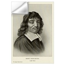 Rene Descartes, French mathematician Wall Decal