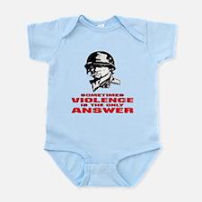 Sometimes Violence Infant Bodysuit
