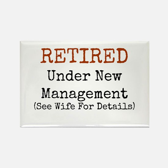 Retired See Wife for Details Magnets