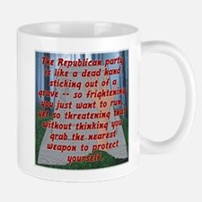 Republicans Climbing From The Grave Mug
