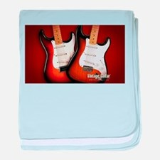 epic guitars baby blanket