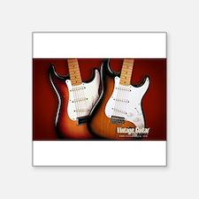 "epic guitars Square Sticker 3"" x 3"""