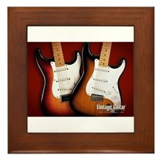 epic guitars Framed Tile