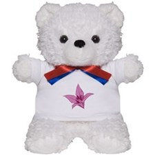 Origami lily pink Teddy Bear