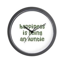 Happiness is being an Auntie Wall Clock