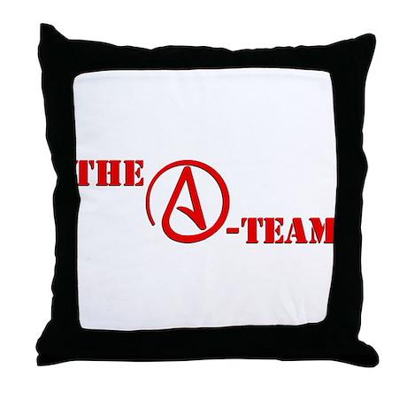 The A Team Throw Pillow