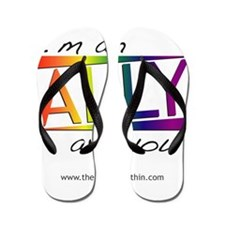 Straight Allies for Marriage Equality Flip Flops