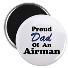 Proud Dad of an Airman Magnet