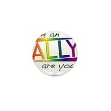 Straight Allies for Marriage Equality Mini Button