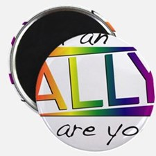 "Straight Allies for Marriage Equality 2.25"" Magnet"